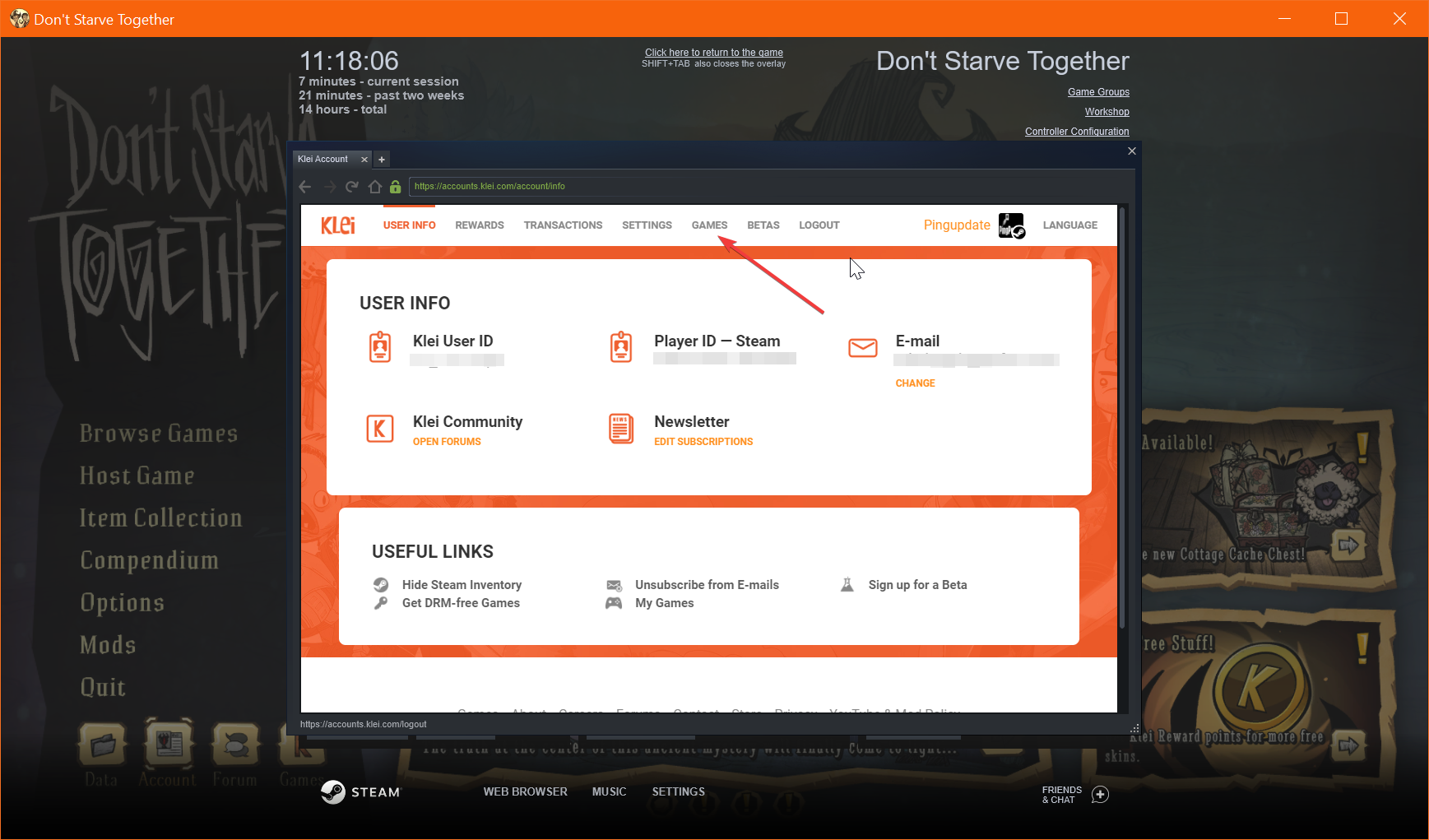 Generating your server token step 3