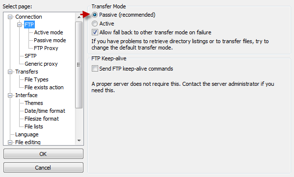 FTP Encryption - Knowledgebase - Pingperfect Ltd